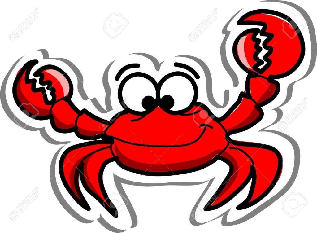 1024x752 Crab Clipart Moon Clipart