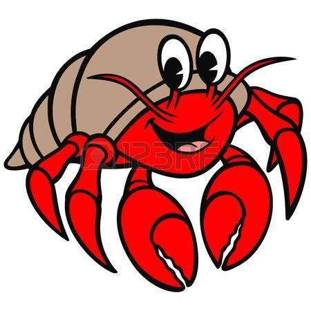 450x450 Hermit Crab Clipart