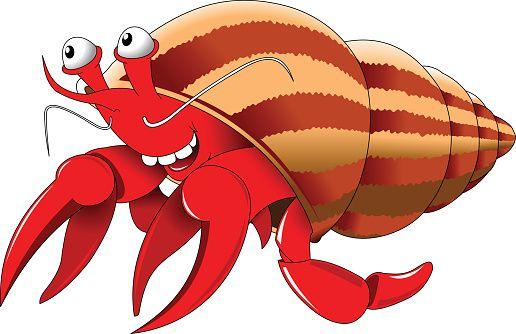 516x334 Hermit Crab Clipart 2.jpg Vector Art Clip Art