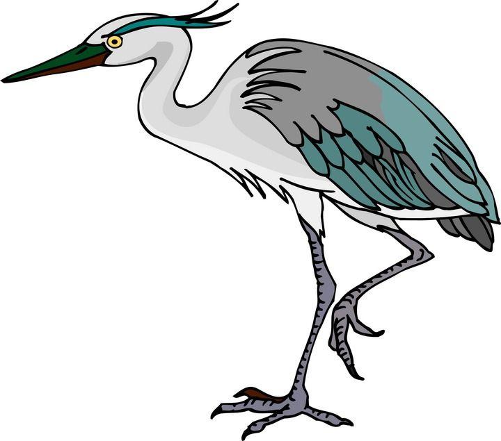 720x635 Free Heron Clipart Blue Heron