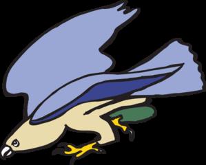 299x240 Heron Cartoon Clip Art