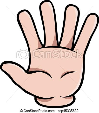 411x470 Hand Clipart Five Finger Free Collection Download And Share Hand