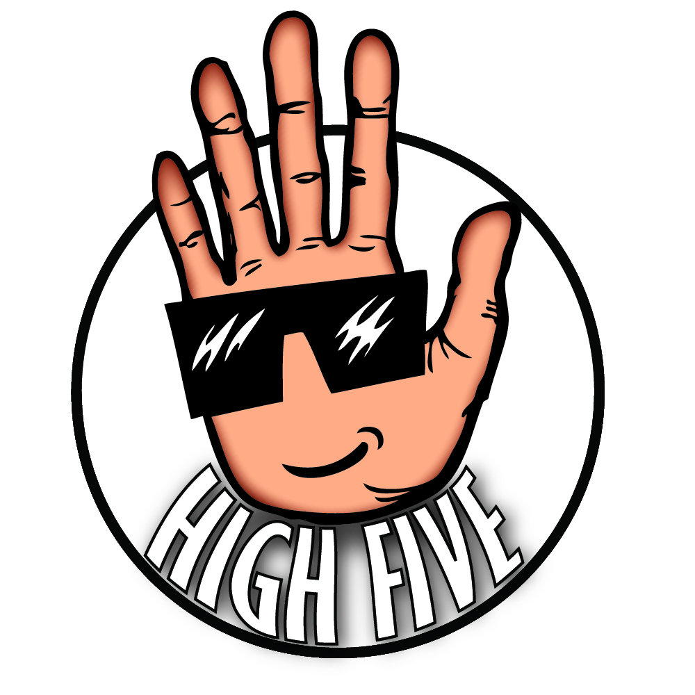1000x1000 High Five Clipart
