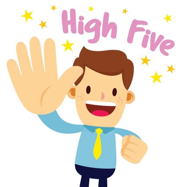 612x612 Collection Of Hi Five Clipart High Quality, Free Cliparts