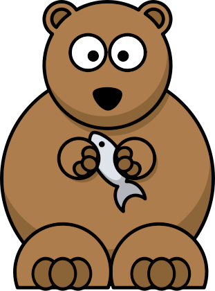 311x420 Free Bear Clipart