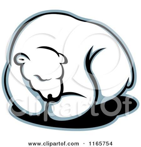 450x470 Royalty Free (Rf) Polar Bear Logo Clipart, Illustrations, Vector