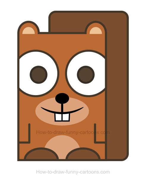 492x619 Top 80 Squirrel Clip Art