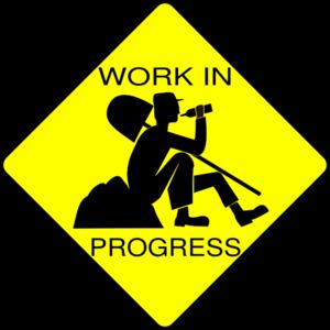 300x300 Work In Progress Clip Art