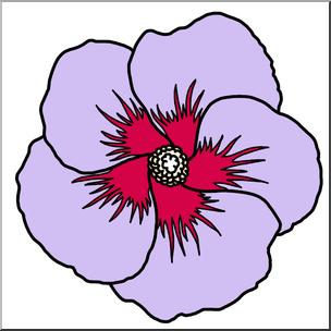 304x304 Hibiscus Clipart