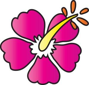 300x286 Hibiscus Clipart Image