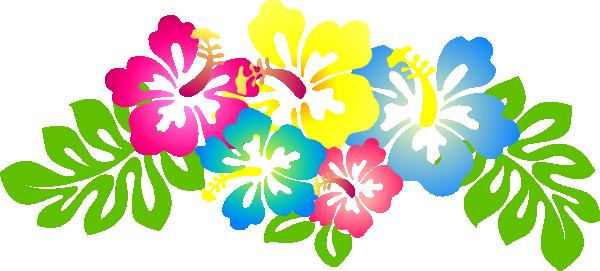 600x271 Hibiscus Flower Clip Art Hibiscus4 Clip Art