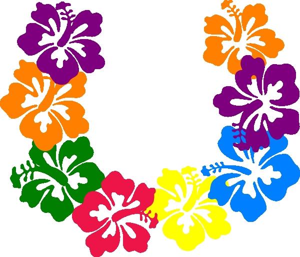 600x513 Lei Flowers Clip Art