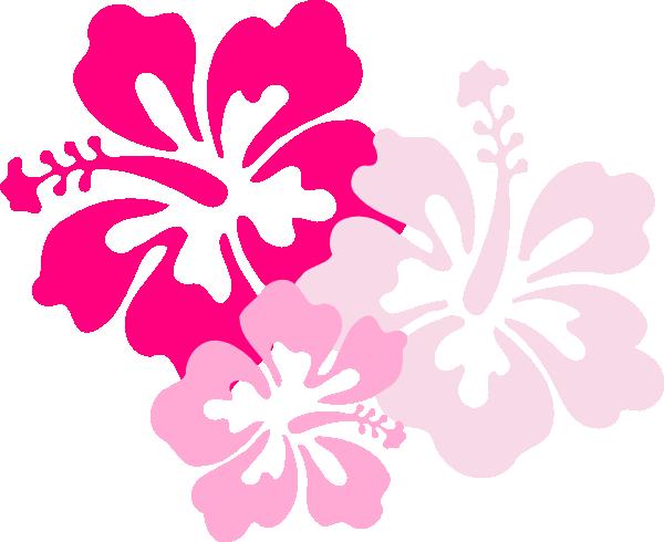 600x490 Pink Hawaiian Flower Hibiscus Pink Clip Art