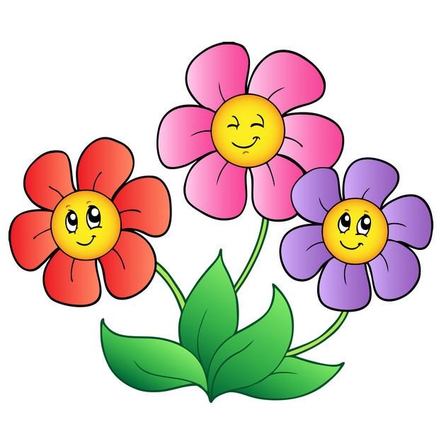 620x620 Flower Cartoon Pictures Clip Art Find