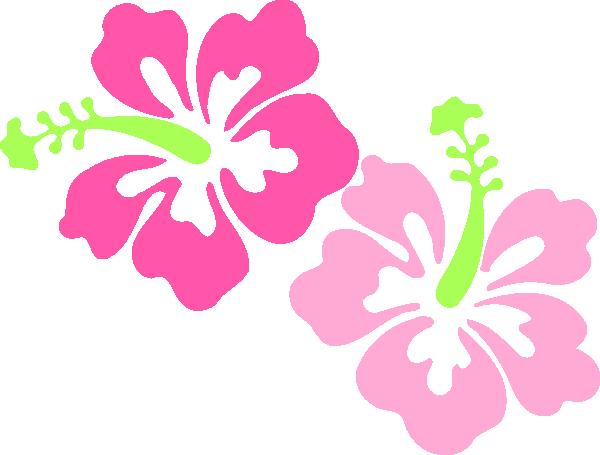 600x455 Hibiscus Clip Art