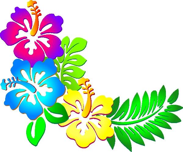 600x499 Flower Art Clip Hibiscus Flower Clip Art Hibiscus Corner Clip Art