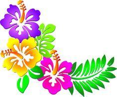 236x196 Hawaiian Clip Art Borders Hibiscus Corner Clip Art Tropical
