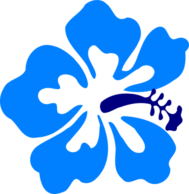 hibiscus flowers clipart at getdrawings com free for personal use rh getdrawings com Hawaiian Flower Drawings Flower Clip Art