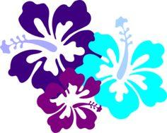 236x189 Hibiscus Flowers Clip Art