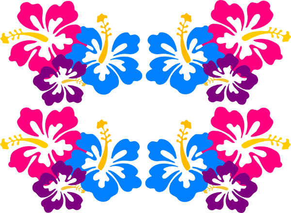 600x440 Hibiscus Drawings Clip Art Free Vector Images Graphics