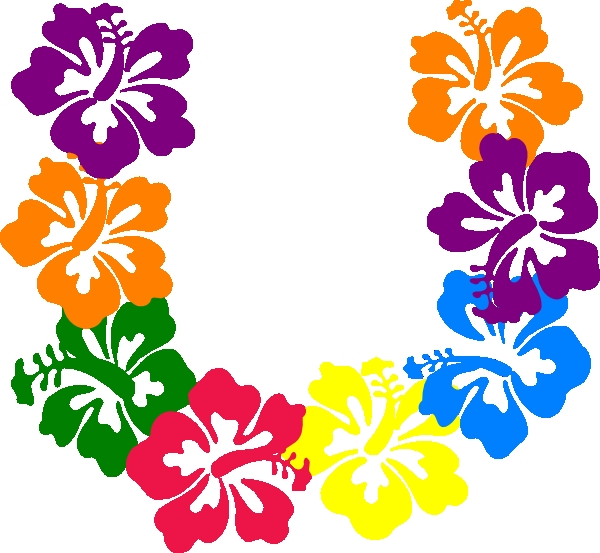 Hibiscus Flowers Clipart At Getdrawingscom Free For Personal Use
