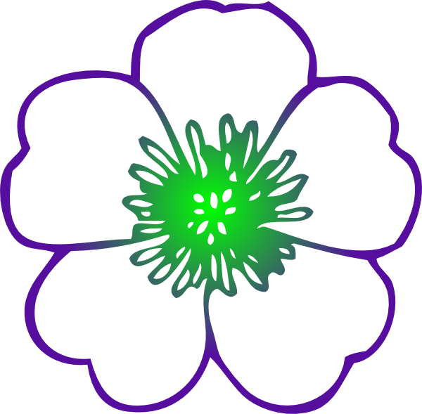 600x589 Purple Hibiscus Flower Png Clip Arts For Web