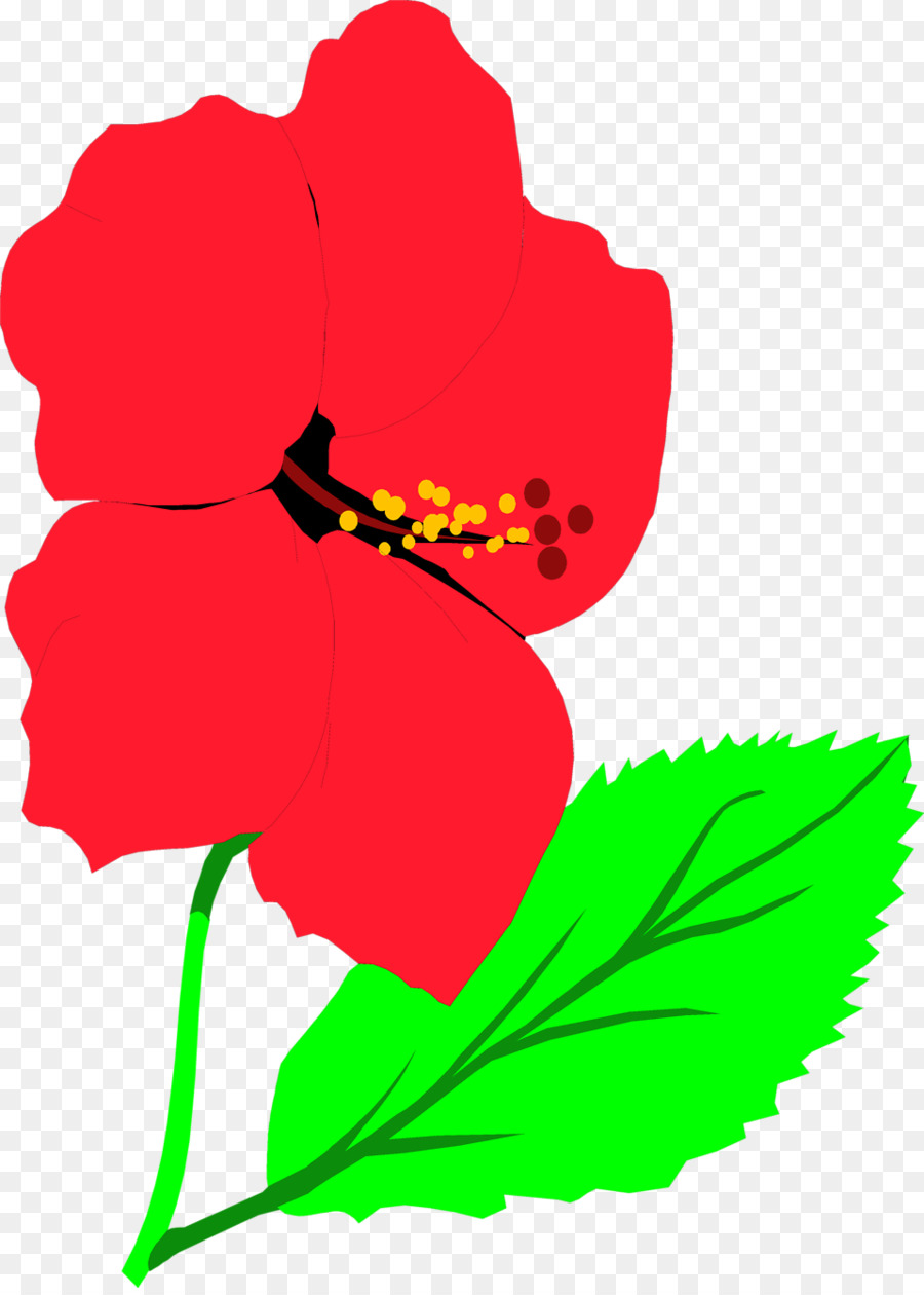 Hibiscus Flowers Clipart At Getdrawings Free For Personal Use