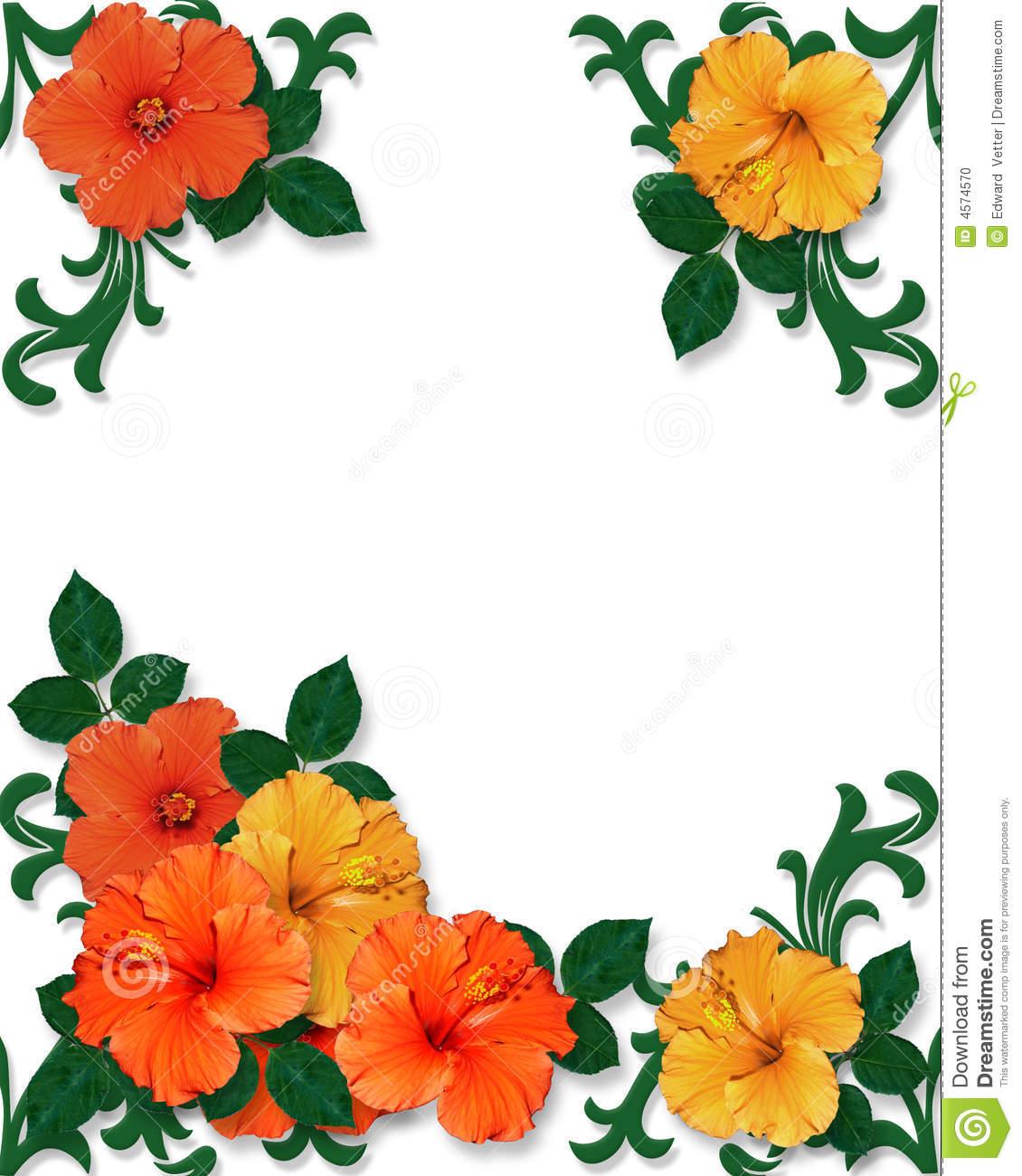 1130x1300 Free Hawaiian Clip Art Borders Hawaiian Flower Clip Art Borders