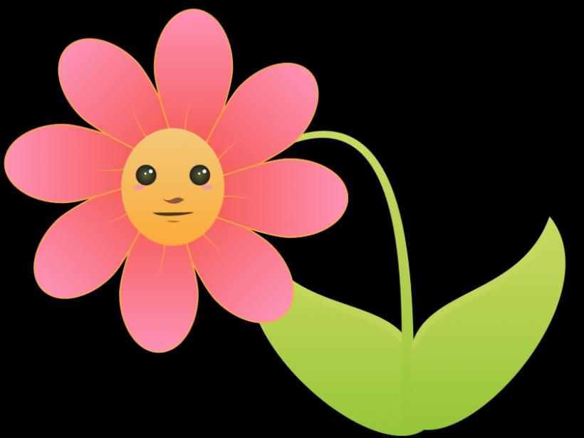820x615 Hibiscus Flower Cartoon Free Download Clip Art Free Clip Artpng