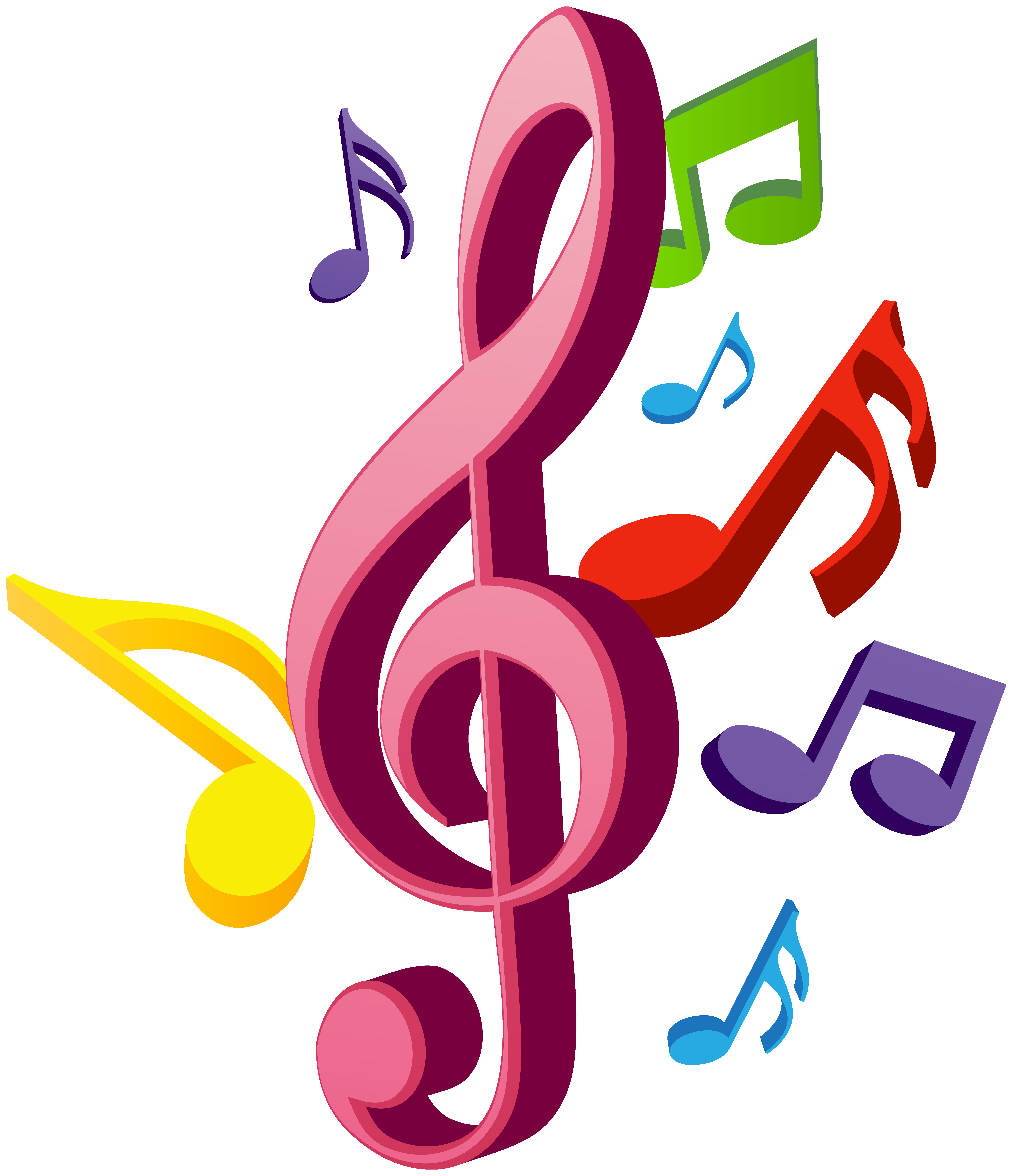 6882x8000 Music Notes Png Clip Art Gallery Yopriceville High Quality