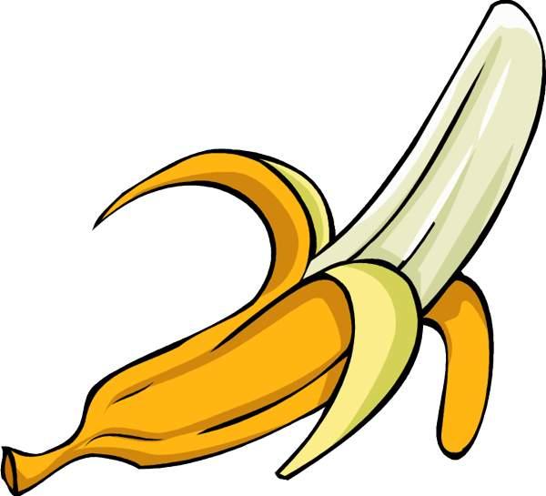 600x545 Banana Clipart High Resolution 3049101
