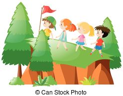 247x194 Hiking Up Clip Art Vector And Illustration. 943 Hiking Up Clipart