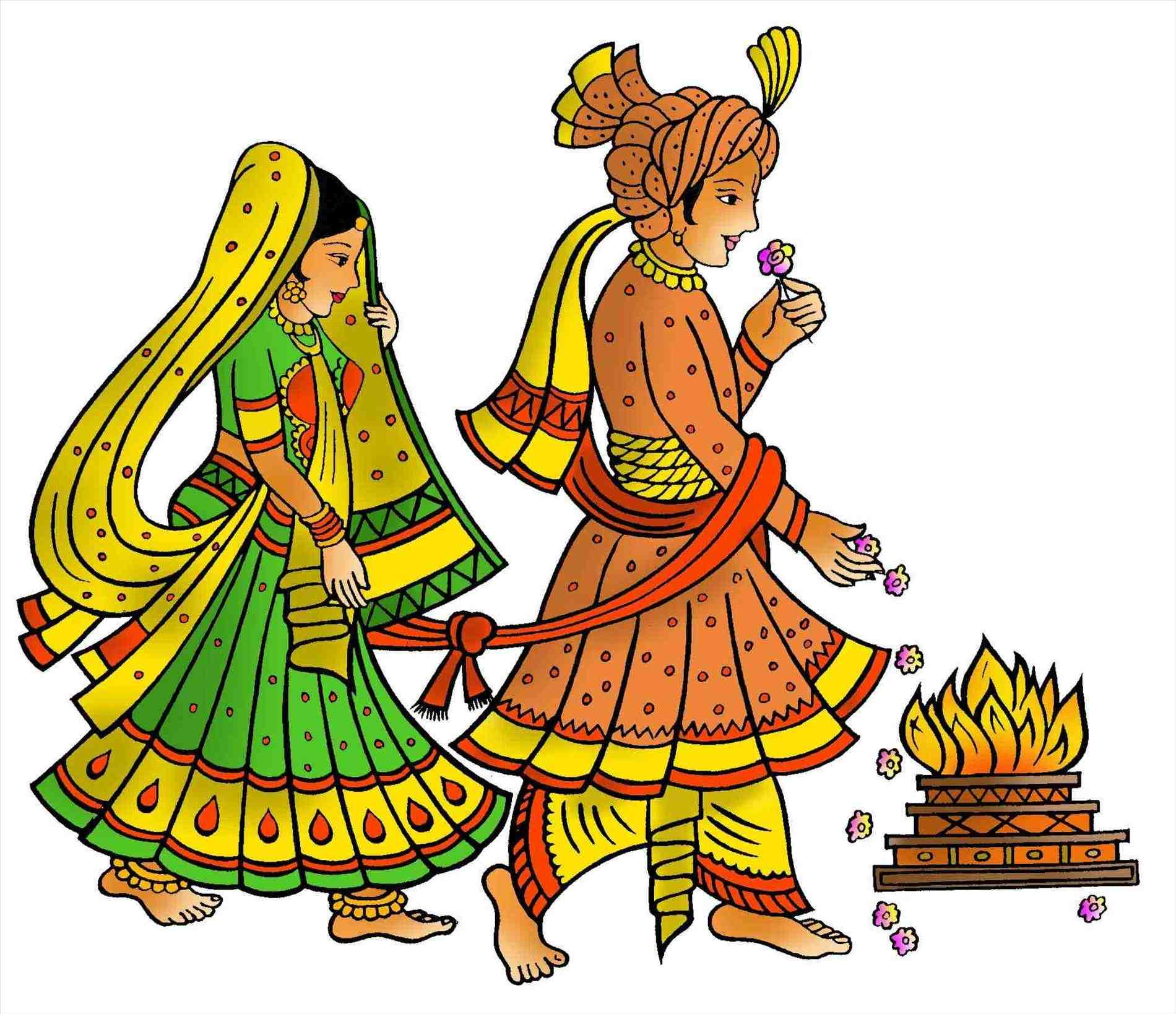 Hindu Wedding: Hindu Clipart At GetDrawings.com