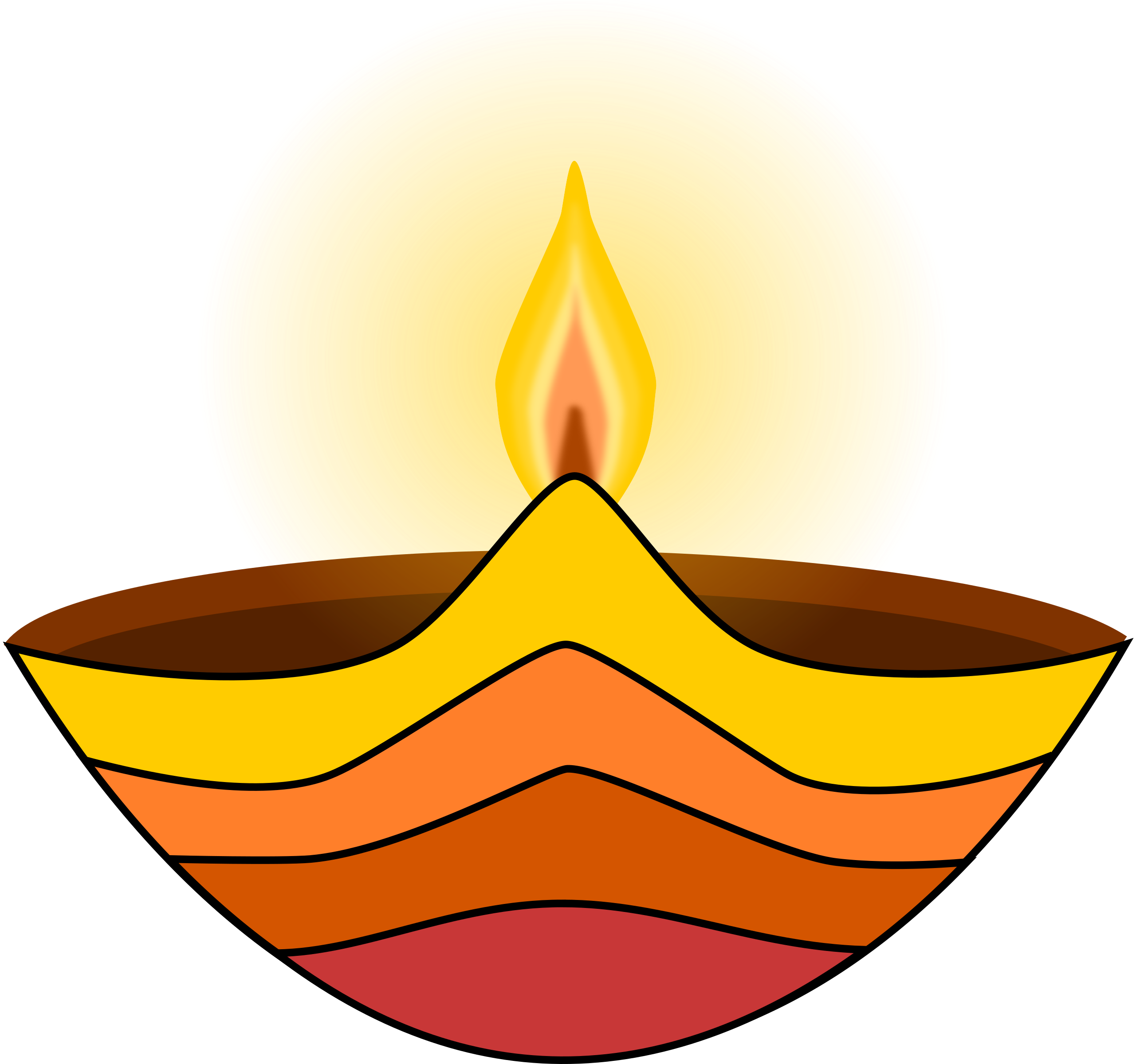 2561x2400 Hindu Deepam Clipart Black And White 3 Clipart Station