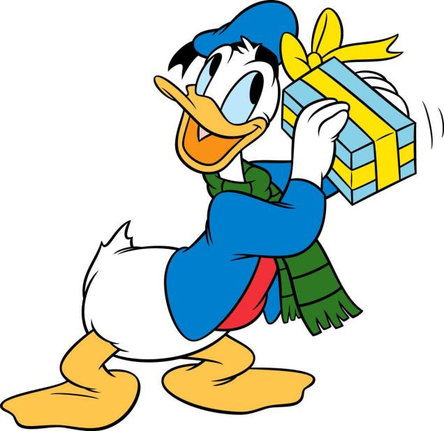 636x618 Animated Duck Clipart