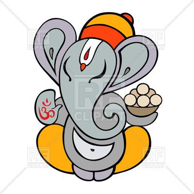 400x400 Hindu God Ganesha Vector Image Vector Artwork Of Signs, Symbols