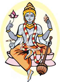 257x350 Hindu Religious Cliparts