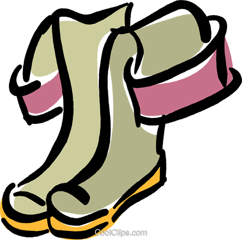 480x476 Rubber Bootship Waders Royalty Free Vector Clip Art Illustration