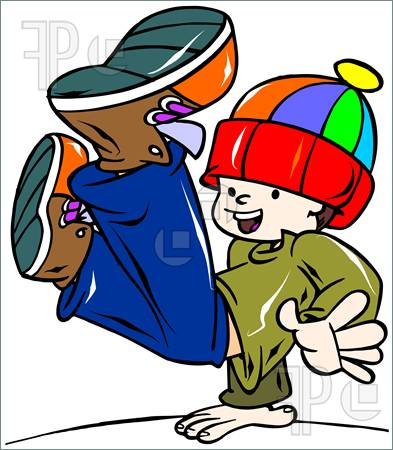 393x450 Youth Hip Hop Clipart