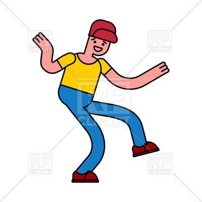 400x400 Beautiful Hip Hop Clip Art Dancing Boy Royalty Free Vector Clip