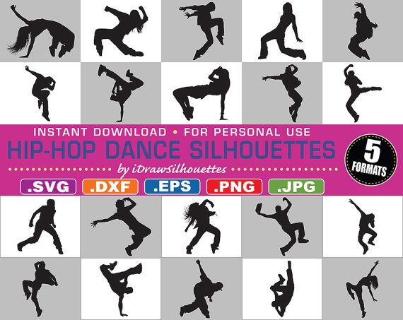 Hip Hop Dance Clipart
