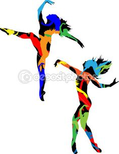 236x305 Hip Hop Dance Clip Art Silhouette Of The Dancer Stock Vector