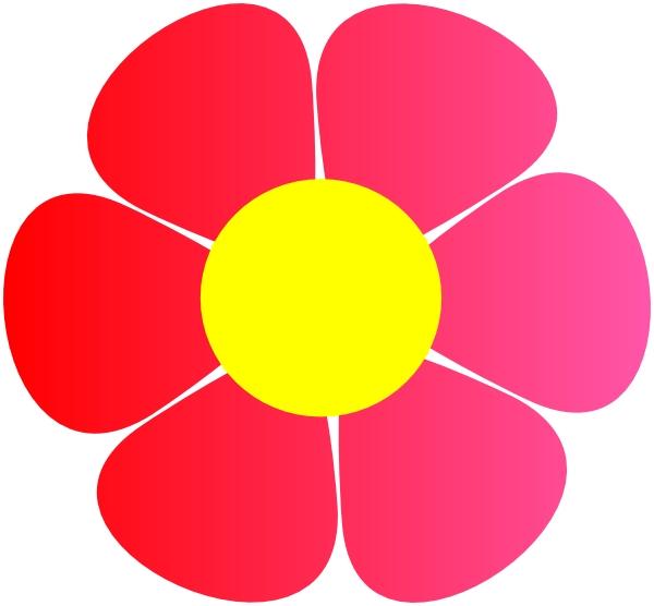 600x556 Free Hippie Flowers Clip Art Hippie Flower Clip Art At Clker