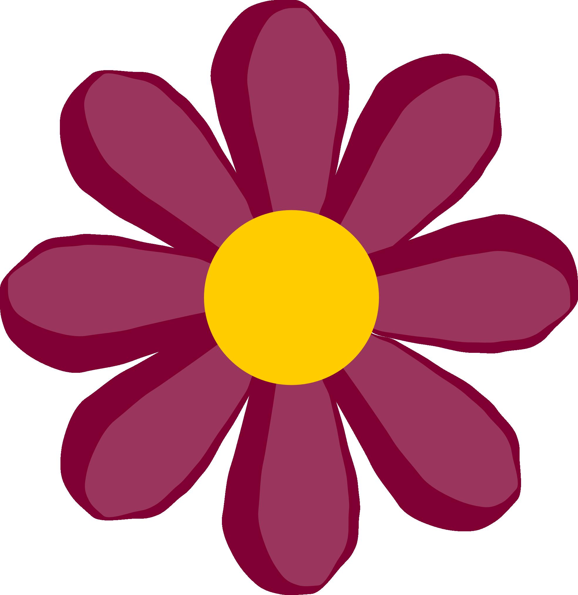 1969x2027 Hippie Flower Clip Art