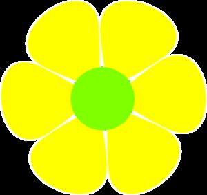 300x282 Yellow Flower Clip Art