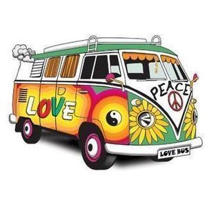 300x300 Hippie Van Clip Art Clipart Panda