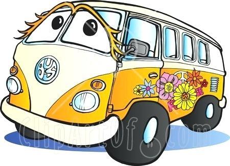 450x326 Flower Power Clip Art Fancy Hippie Van Gallery For Flower Power