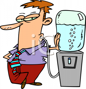338x350 Nice Drinking Water Clip Art