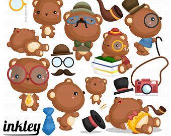 340x270 Hipster Bear Clipart, Hipster Bear Clip Art, Hipster Bear Png