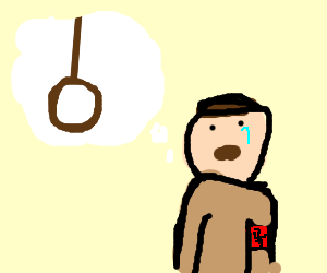 300x250 Hitler Thinking About Suicide